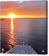 Caribbean Cruise - On Board Ship - 1212185 Acrylic Print