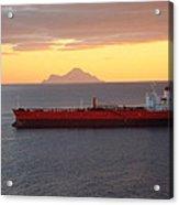 Caribbean Cruise - On Board Ship - 1212188 Acrylic Print