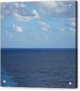Caribbean Cruise - On Board Ship - 1212214 Acrylic Print