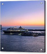 Caribbean Cruise - On Board Ship - 1212227 Acrylic Print