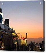 Caribbean Cruise - On Board Ship - 121230 Acrylic Print