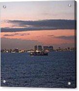 Caribbean Cruise - On Board Ship - 121231 Acrylic Print