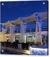 Caribbean Cruise - On Board Ship - 121237 Acrylic Print