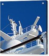 Caribbean Cruise - On Board Ship - 121263 Acrylic Print