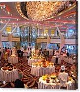 Caribbean Cruise - On Board Ship - 121275 Acrylic Print