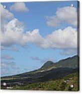 Caribbean Cruise - St Kitts - 1212157 Acrylic Print by DC Photographer