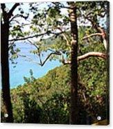 Caribbean Cruise - St Thomas - 1212107 Acrylic Print by DC Photographer