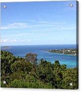 Caribbean Cruise - St Thomas - 1212238 Acrylic Print