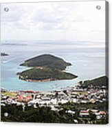Caribbean Cruise - St Thomas - 12124 Acrylic Print by DC Photographer