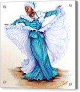 Caribbean Folk Dancer Acrylic Print