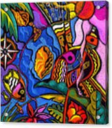 Caribbean Acrylic Print