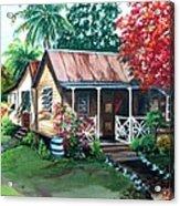 Caribbean Life Acrylic Print
