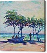 Caribbean Sun Acrylic Print by Joseph   Ruff