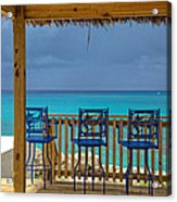 Caribbean View-island Grill Grand Cayman Acrylic Print