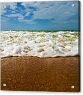 Caribbean Waves Acrylic Print