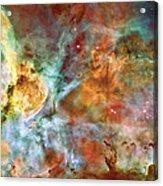 Carina Nebula - Interpretation 1 Acrylic Print