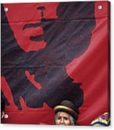 Caring Che Acrylic Print
