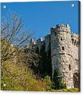 Carisbrooke Castle Acrylic Print
