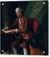Carl Friedrich Abel, C.1777 Acrylic Print