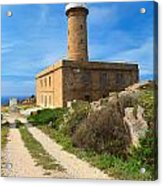 Carloforte Lighthouse Acrylic Print