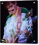 Carlos Santana At The Berkeley Greek Theater-september 13th 1980 Acrylic Print
