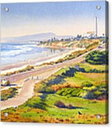 Carlsbad Rt 101 Acrylic Print by Mary Helmreich