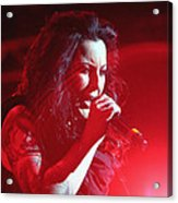 Carly And The Concert Lighting Acrylic Print