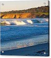 Carmel Beach California Acrylic Print