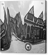 Carmel-by-the-sea Jaguar Hood Acrylic Print
