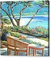 Carmel Lagoon View Acrylic Print