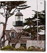 Carmel Light Station Acrylic Print