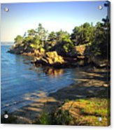 Carmel Meadows Beach At Point Lobos Acrylic Print