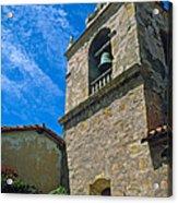 Carmel Mission In Sun Acrylic Print