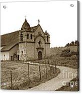 Carmel Mission Monterey Co. California Circa 1890 Acrylic Print