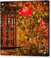 Carmel Mission Wall Acrylic Print