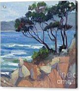 Carmel View From Point Lobos Acrylic Print