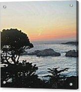Carmel's Scenic Beauty Acrylic Print