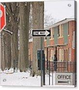 Carmine Street Acrylic Print