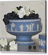 Carnation Grape Togetherness Acrylic Print by Good Taste Art