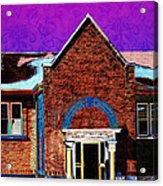 Carnegie Library North Platte Acrylic Print