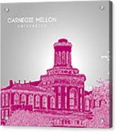 Carnegie Mellon University Hamerschlag Hall Acrylic Print