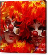Carnevale Di Venezia 100 Acrylic Print