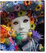 Carnevale Di Venezia 97 Acrylic Print