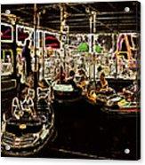 Carnival - Bumper Cars Acrylic Print