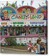 Carnival Candy Land Acrylic Print