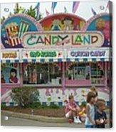 Carnival Candy Land Acrylic Print