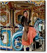 Carnival Day In Color Acrylic Print