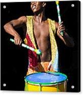 Carnival Drummer Acrylic Print