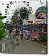 Carnival Ferris Wheel Acrylic Print