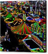 Carnival - Midway West Acrylic Print